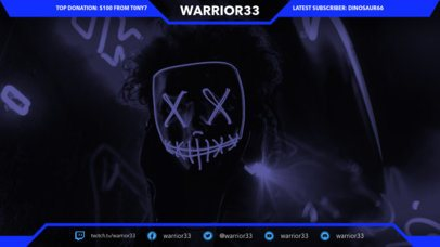Twitch Overlay Maker with Cool Backgrounds for Gamers 1070b