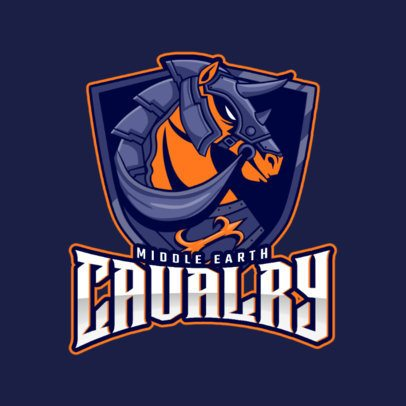 Real Time Strategy eSports Logo Generator with Cavalry Graphics 1750e
