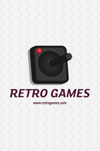Pinterest Pin Generator with a Retro Game Graphic 1124d