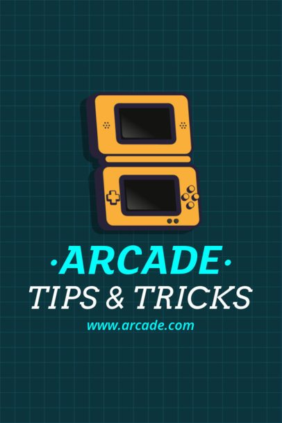 Gaming Pinterest Pin Maker for a Tips and Tricks Gaming Post 1124e