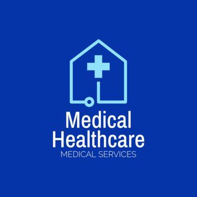 Medical Home Healthcare Logo Maker 1803b