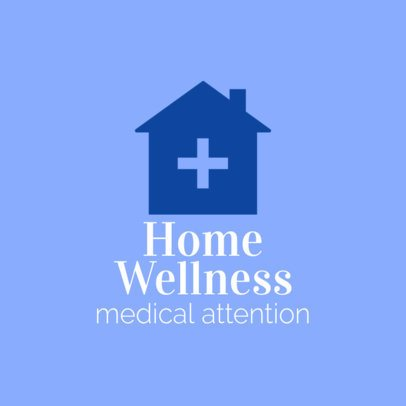 Home Healthcare Logo Design Generator 1803e
