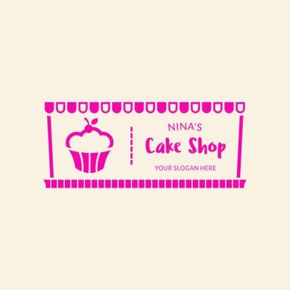 Rectangular Logo Maker for Bakery Stores 1784c