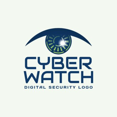 Digital Security Logo Maker 1790d