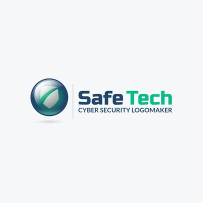 Cybersecurity Company Logo Maker with a Professional Design 1791
