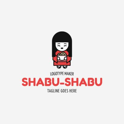 Adorable Japanese Restaurant Logo Generator 1819e