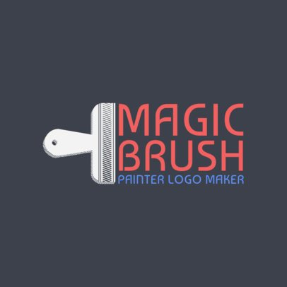 Easy Logo Generator for Painting Company 1436d