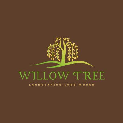 Multicolor Logo Template for Landscaping Services 1423c