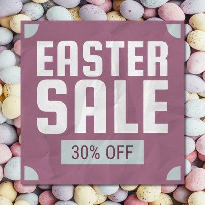 Banner Design Maker for a Special Easter Sale 546f