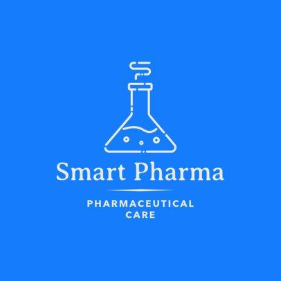 Simple Pharmaceutical Logo Maker 1857