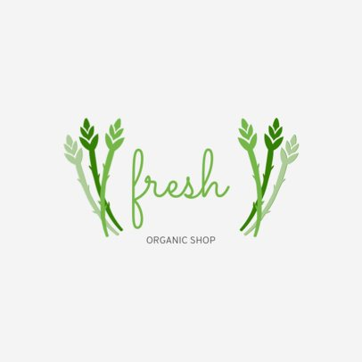 Logo Maker for an Organic Food Place 1935a