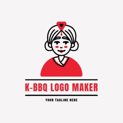 Logo Maker for a Korean Barbecue 1922d