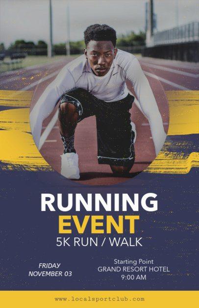 Online Flyer Maker for Running Events 108d