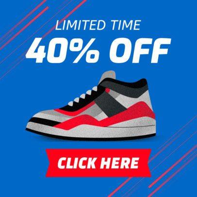 Online Banner Generator for a Sneaker Sale 538b