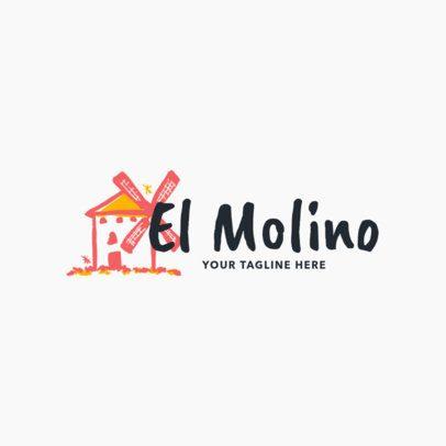Spanish-themed Restaurant Logo Maker 1917b