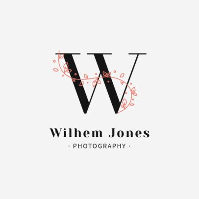 Professional Photographer Logo Maker with a Sophisticated Design 2172d