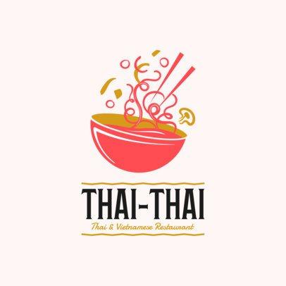 Restaurant Logo Maker with Thai Food Clipart 1838