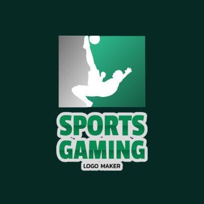 eSports Logo Template for Soccer Games 1874e