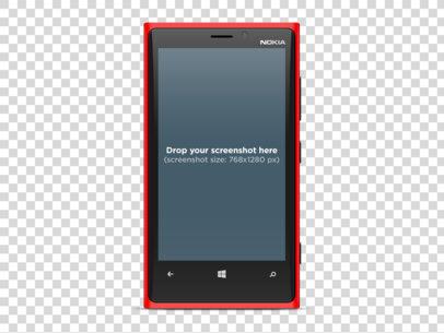 Nokia Lumia 1920 Red