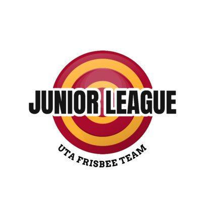 Sports Logo Maker for a Junior Frisbee League Team 2224e