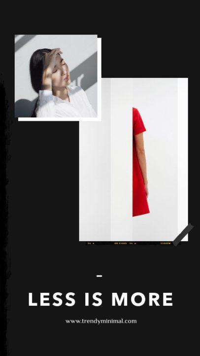 Fashion Instagram Story Maker with a Minimal Design 968e