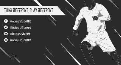 Twitch Banner Generator Featuring an eSports Player 1459b