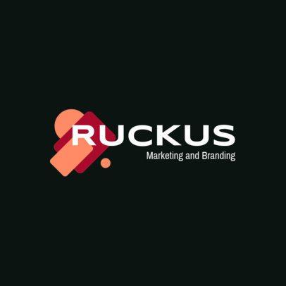 Marketing and Branding Online Logo Creator 2231e