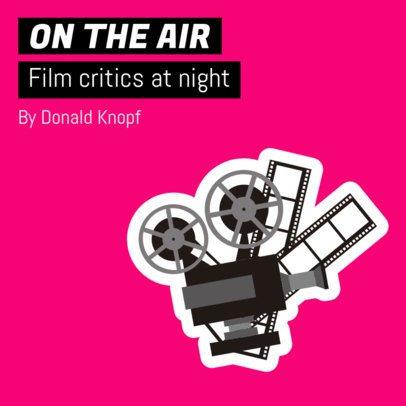 Podcast Cover Maker for Film Critics 1496e