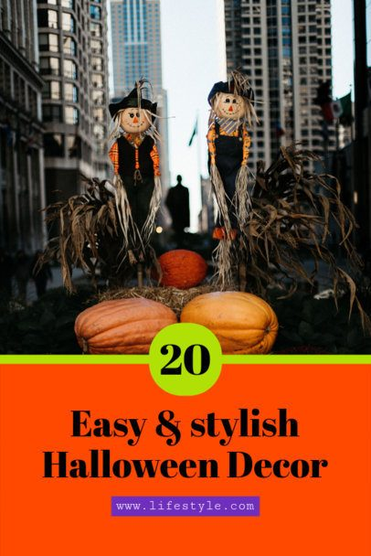 Pinterest Pin Maker for a Halloween Decorations Post 626f