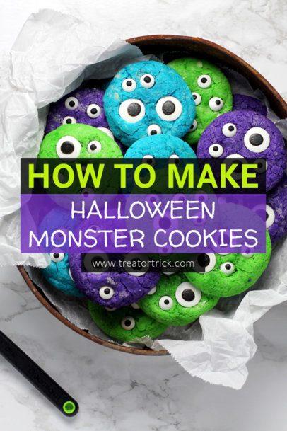 Pinterest Pin Maker for a Halloween Desserts Recipes Post 1122g