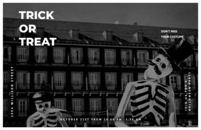 Halloween Festivity Online Flyer Generator 423j