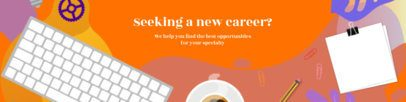 LinkedIn Cover Template for Career Advancement 1591g