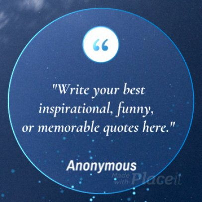 Instagram Video Maker for Inspirational Quotes with Minimal Animations 1786