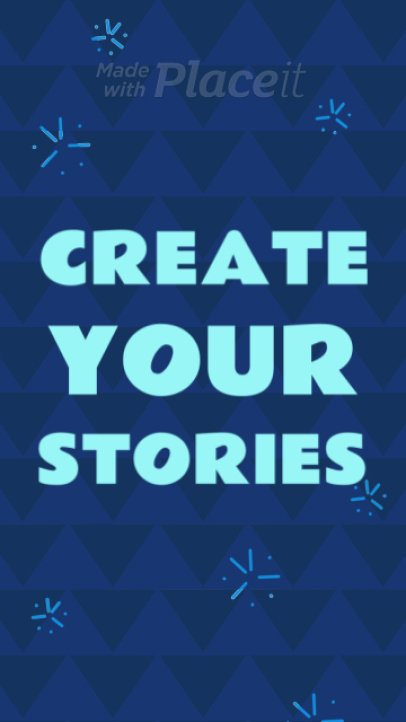Instagram Story Video Maker with Animated Dazzling Stars 1751