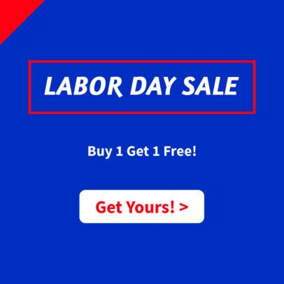 Banner Maker for Labor Day Discounts 745i-1692