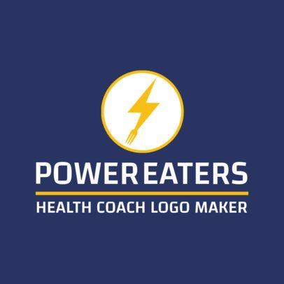 Health Coach Logo Maker 2458c