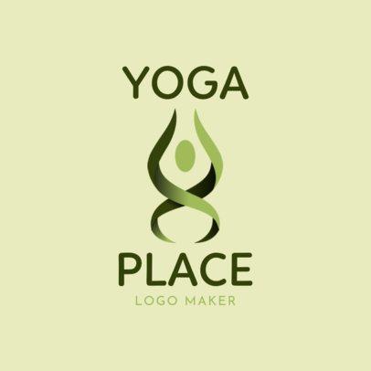 Modern Logo Maker for a Yoga Brand 2459c