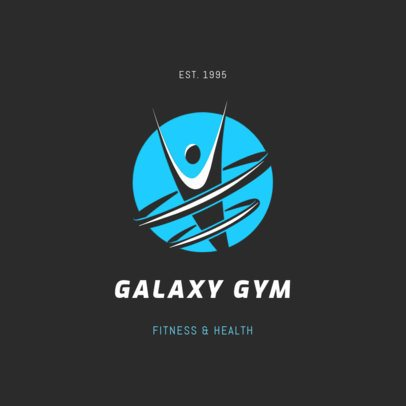 Logo Generator for a Fitness and Health Gym 2457b