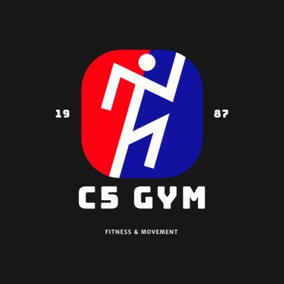 Fitness Logo Template for a Body-Training Gym 2457d