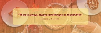 Thanksgiving-Themed Twitter Header Maker with a Quote 1094f-1769