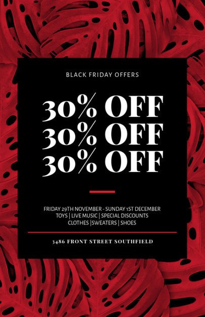 Flyer Maker for Huge Black Friday Sales 238m 1785g