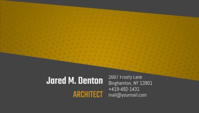 Creative Business Card Maker for Architects 182c--1762
