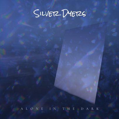 Dark Rock Album Cover Template 464e--1762