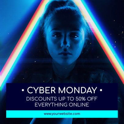 Sophisticated Instagram Post Maker for a Cyber Monday Discount 1102f 1794