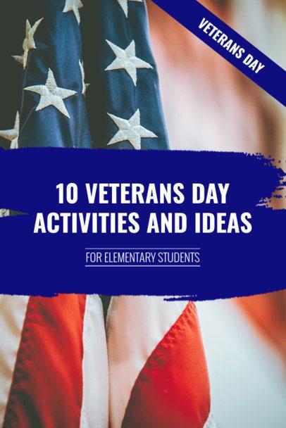 Pinterest Pin Maker for a Veterans Day Ideas Post 663h-1804