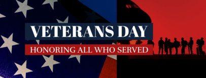 Veterans Day Facebook Cover Maker 1803