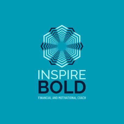 Abstract Logo Maker for a Motivational Coach 2551e
