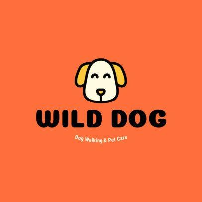 Minimal Logo Maker for Pet Care Centers 1434g 4-el