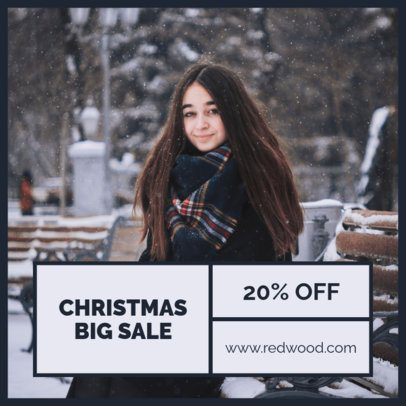 Instagram Post Maker for a Limited-Time Christmas Discount 1101f 1833