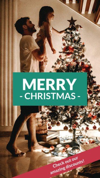 Instagram Story Maker for a Christmas Season Sale 961i-1823